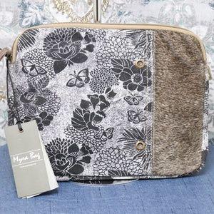 Myra Bag Floral and Hairon iPad case